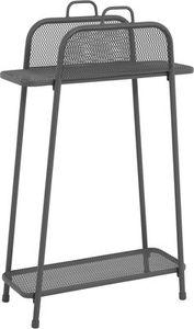 MWH Balcony Shelfo tall Regal groß - Material: Metall, Farbe: Eisengrau, Maße: 65,5 cmx27 cmx105,5 cm; 879918