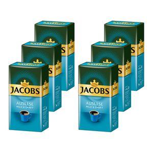 JACOBS Filterkaffee Auslese Mild&Sanft 6x500g Pulver-Kaffee gemahlen Röstkaffee