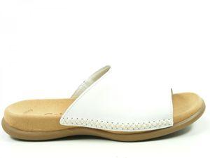 Gabor 03-705 Schuhe Damen Pantoletten , Schuhgröße:37, Farbe:Weiß