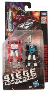 Hasbro Transformers E4494 Generations Siege: War for Cybertron Red Heat & Stakeout, Actionfigur