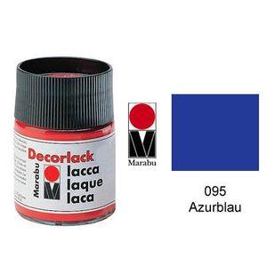 Decorlack Acryl, Azurblau 095, 15 ml, Menge 1