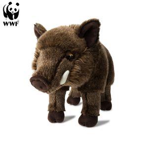 WWF Plüschtier Wildschwein Eber (31cm) lebensecht Kuscheltier Stofftier Plüschfigur