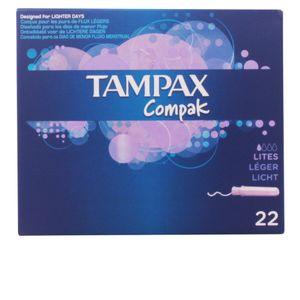 TAMPAX COMPAK tampón lites 22 uds