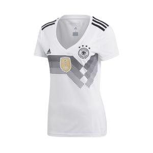 adidas DFB Deutschland Heim Trikot Damen der WM 2018, Farbe:weiss, Bitte Größe wählen:M