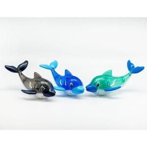 Tauchdelfin mit Licht ca. 16cm farblich sortiert