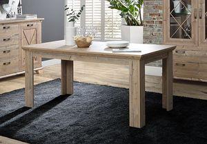 Esstisch Küchentisch Holztisch Landhaus Bramberg Fichte 160-206x90cm