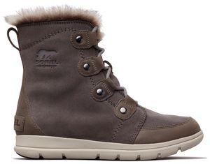 SOREL Explorer Joan Damen Stiefelette Grau Schuhe , Größe:41
