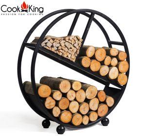 """CookKing 333237 Kaminholzregal Feuerholzständer """"DIEGO"""""""