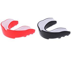 2 Stücke EVA Mundschutz Zahnschutz Zahnschutz Boxen MMA Zähne Schutz + Box