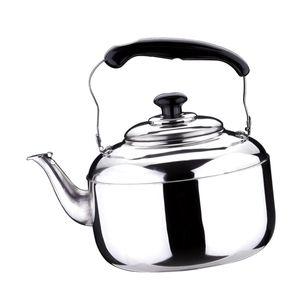 Edelstahl Wasserkessel 3L Induktion Pfeifkessel Flötenkessel Teekessel 6L Silber Pfeifender Wasserkocher Pfeifender Teekessel
