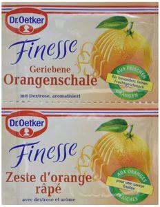 Dr. Oetker Finesse geriebene Oerangenschalen Aroma mit Dextrose 12g