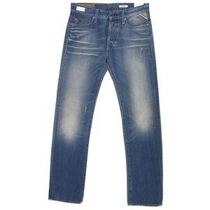 18442 Replay, Jennon Regular Strai,  Herren Jeans Hose, Denim, blue vintage, W 28 L 32