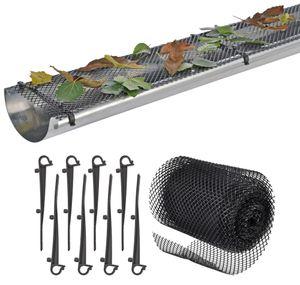 Dachrinnenschutz Material: flexibles Kunststoffgeflecht