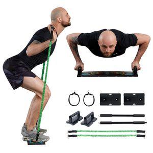 CRENEX Multifunktionale Push-Up Rack Board faltbares Heimtrainings Fitnessgerät Fitness