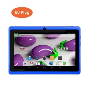 7  Zoll Kinder Tablet Android 4.4 Tablet PC  mit Dual-Kameras 8 GB Quad Core WiFi Tablet PC Pad  für Kinder, blau