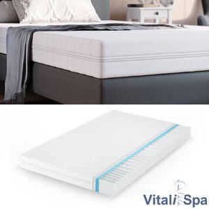 VitaliSpa Calma Comfort Plus Premium Marken Kaltschaum 7 Zonen Schaum Matratze 140x200 H3