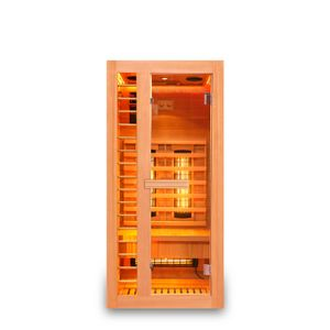 HOME DELUXE - Infrarotsauna REDSUN S Deluxe Infrarotkabine Wärmekabine Saunakabine Sauna