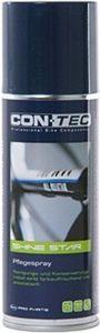 """CONTEC Pflegespray """"Shine Star"""" Shine Star ist ein Reinigungs- und Konservierungsmittel zum Schutz von Metall-, Plastik-, Gummi-, Kunstleder- und Lederteilen. Wirkt Farbauffrischend, gibt einen angenehmen Duftstoff ab und schränkt das erneute Absetzen vo"""