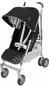 Maclaren Buggy Techno XT Black Silver - Buggy 0 bis 25 kg belastbar - Buggy In 4 Positionen Verstelbar