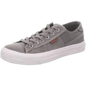 DOCKERS by Gerli Herren Sneaker Washed Canvas Schuhe Grau, Größe:EUR 43