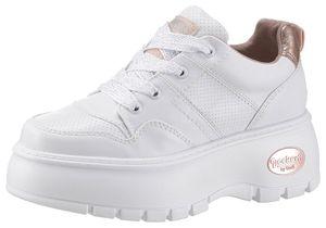 DOCKERS Damen Low Sneaker Weiss Schuhe, Größe:39