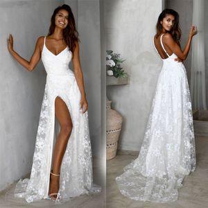 Sexy Spitze Hochzeitskleid Brautjungfernkleid