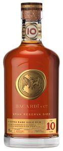 Bacardi Gran Reserva Diez 10 Extra Rare Gold Rum Puerto Rico   40 % vol   0,7 l