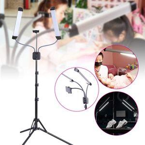 40W Kosmetiklampe Schönheitslampe Fotografie Live-Lichter Doppel LED Lampe Fülllicht für Videoaufnahme Make-Up Vlog Live-Stream