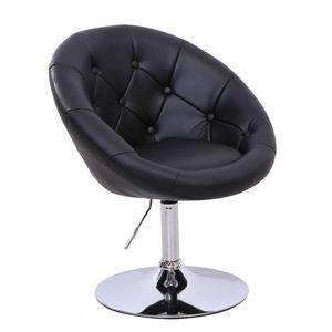SVITA Clubsessel Cocktailsessel HAVANNA in schwarz Lounge-Sessel