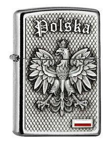 Zippo Feuerzeug Polska Emblem 2005157