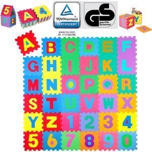 KIDUKU 86 teilige Puzzlematte Rheinland  - Kinderspielteppich, Spielmatte, Spielteppich für Baby & Kinder