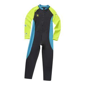 Neoprenanzug UV Schutz Taucheranzug Neopren Surfanzug für Kinder Größe XXL