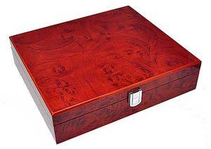 Uhrenbox für 10 Uhren 8-fach lackiert Amboina 865