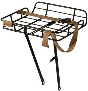 Basil Portland Vorderrad-Gepäckträger für 26/28 Vorderrad mattschwarz