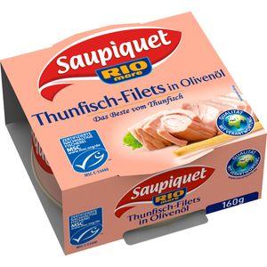 MSC Saupiquet Rio Mare Thunfisch Filets in Olivenoel Dose 160g