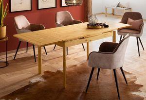 Esstisch Küchentisch Tisch Landhaus ausziehbar Kiefer massiv Farbe und Länge wählbar