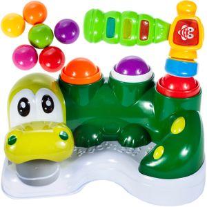 MalPlay Klopfspiel Hammerspiel   Spielzeug ab 1 Jahr   Licht & Music Musikspielzeug   Klopfbank Entwicklung Pädagogisches Geburtstagsgeschenk für Kinder Kleinkind