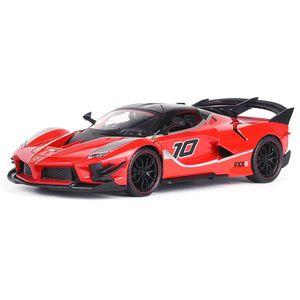SanBeans 1:24 Ferrari FXX K EVO Automodell Die Cast Alloy Jungen Spielzeug Autos Druckguss & Spielzeug Supercar Sammlerstücke Kinderauto