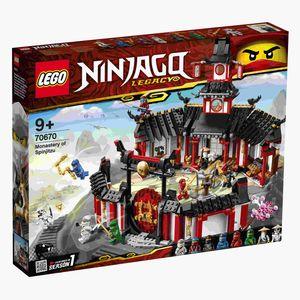 LEGO® NINJAGO Kloster des Spinjitzu, 70670