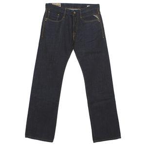 19804 Replay, Billstrong Classic S,  Herren Jeans Hose, Denim, blue raw, W 29 L 34