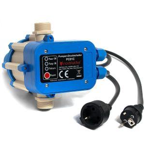 Hengda Pumpensteuerung Automatik Pumpe Druckschalter 10 bar mit Kabel Hauswasserwerk Pumpenschalter fš¹r alle Tauchdruck