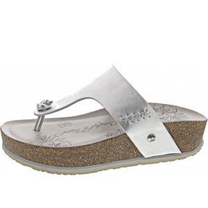 Panama Jack Damen Zehenschuh in Silber, Größe 37