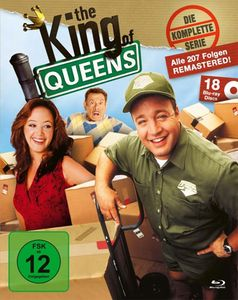 King of Queens - Kompl. Serie 1-9 (BR) 18Discs, KING-BOX