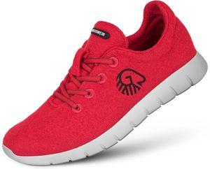 Giesswein Merino Wool Runners Herren trachtenrot Schuhgröße EU 43