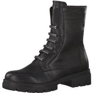 Tamaris Damen Stiefeletten Stiefel 1-25282-25, Größe:37 EU, Farbe:Schwarz