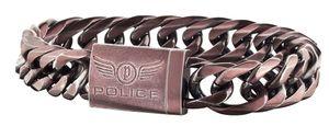 Police Herren Armband PJ25507BSEBR.02-S Proof Edelstahl