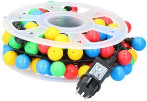Lichterketten mit Kugeln 100x LED 8 Funktionen