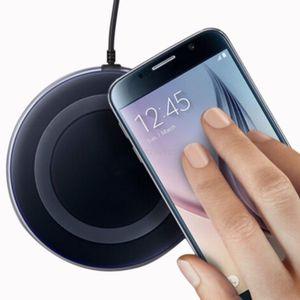 Qi Kabellose Ladestation Wireless Induktiv Fast Charger Ladegerät für  iPhone Samsung
