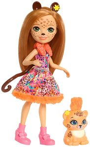 Enchantimals Gepardenmädchen Cherish Cheetah Puppe