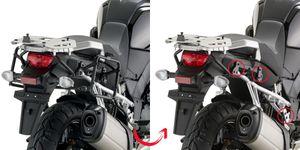 GiVi Seitenkoffer-Träger abnehmbar für Monokey Koffer für Suzuki DL 1000 V-Strom (14-